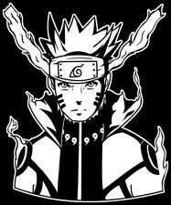 Naruto -- Naruto Uzumaki Bijuu Mode Decal Sticker for Car/Truck/Laptop