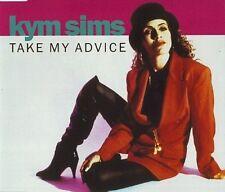 KYM SIMS Take my Advice MIXES & EDITS CD E SMOOVE kim