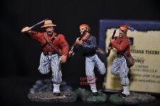 Britains 00280 Louisiana TIGRI GUERRA CIVILE AMERICANA metallo giocattolo soldato Figure Set