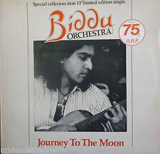 "BIDDU ORCHESTRA ~ Journey To The Moon ~ COLLECTORS LTD ED 12"" Single PS"