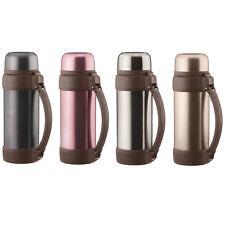 2 Liter Isolierflasche Thermosflasche aus Edelstahl Isokanne Thermoskanne 2000ml