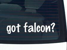 got falcon? BIRD BIRDS FALCONS FUNNY DECAL STICKER ART WALL CAR CUTE