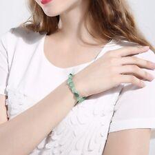 GEMSTONE Crystal Chip Beaded Stretch Gift Charm Reiki Healing BRACELETS NEW UK