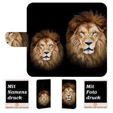 Samsung Galaxy S9 Personalisie Handy Hülle Tasche mit Löwe + Foto Text Druck