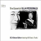 ELLA FITZGERALD  Essential 3 CD ALBUM SET
