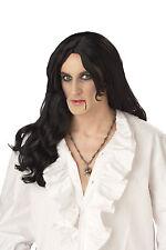 Old World Vampire Halloween Costume Wig