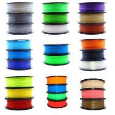 1kg Filament Rolle PLA ABS 1,75mm schwarz weiß grau silber transparent 3D Spule