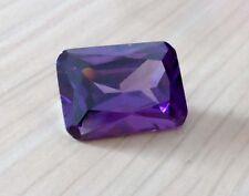 Wholesale AAAAA Purple Sapphire Emerald Faceted Cut VVS Loose Gems U Pick Size