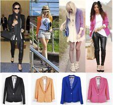 ZARA Celeb Boyfriend Stripe Lining Rollup Sleeve Blazer Jacket in 6 Candy Colour