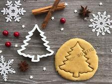 Tree Xmas Cookie Cutter 11 | Christmas | Fondant Cake Decorating | UK Seller