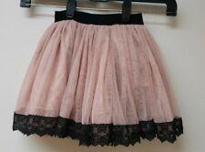 Popatu Girls Tulle Skirt, Color-Mauve, Choose Size