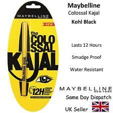 MAYBELLINE NEW YORK - COLOSSAL KAJAL EYE LINER - KOHL BLACK - SMUDGE PROOF 0.35g
