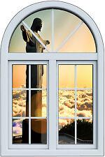 Stickers fenêtre trompe l'oeil Brésil rio de Janeiro réf 6254