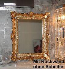 Antik Barock Bilderrahmen Gold 56X46 Fotorahmen Repro für Foto s 30X40 cm Neu **