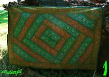 Indischer Wandbehang,Patchwork, Wandbehang bestickt,Orientalisch,Hippie Deko,