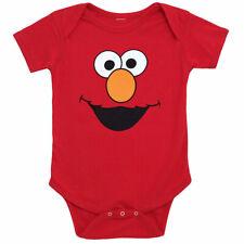 Sesame Street Elmo Face Infant Romper