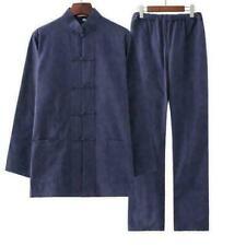Traditionelle chinesische Herren Tang Anzug Mantel Kung Fu Tai Chi Uniform Jacke