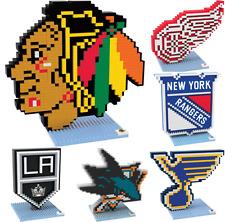NHL Hockey Team 3D Logo Puzzle BRXLZ Set - Pick Your Team!