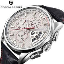PAGANI DESIGN Luxury 50M Water Resistant Date Men Japan Quartz Wrist Watch Gifts