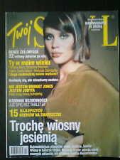 Twoj Styl 10/2003 Polish Magazine front HANNA KONAROWSKA in. Dido, Ricky Martin