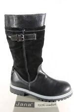 Jana Tex Boots Winter Boots Black, Width H, Warm Lining 26605 New
