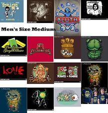 TeeFury T-Shirt Men's Medium - Various Designs, You Pick - Brand NEW