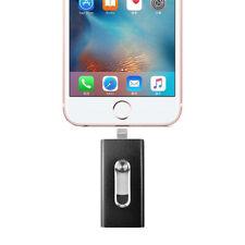 NEW 512GB 128GB OTG Dual USB Memory i Flash Drive U Disk For IOS iPhone iPad/PC