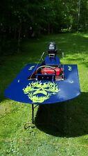 Skull Flame decal vinyl flaming hood graphic sticker fits car truck trailer v2