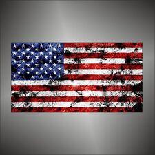 adesivo bandiera USA America american2  flag sticker aufkleber pegatina
