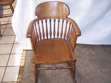 Quartersawn Oak Spindle Rocker / Rocking Chair (R103)