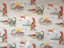Dinosaur, Cath Kidston 100% Cotton Haberdashery fabric per metre