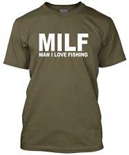 MILF-Uomo AMO pesca-Pescatore Divertente Regalo LOOSE FIT T-SHIRT
