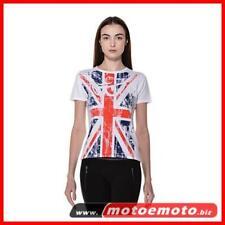 Berik T Shirt Donna Flag Inghilterra UK Bandiera Occhini Moto Moda Fashion