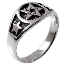 Pentacle & Stars Ring