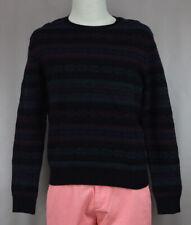 Polo Ralph Lauren Men's Black Wool Cashmere Pull Over Sweater Ret $350 New