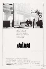 Manhattan woody allen vintage movie poster affiche film A4 A3 art print cinema