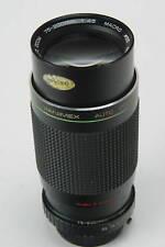 Hanimex 4,5/75-200mm mit Minolta MD Bajonett