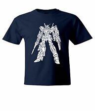UC RX-0 Unicorn Gundam [Destroy Mode] Mens Unisex Top Tee T-Shirt Cotton Shirt