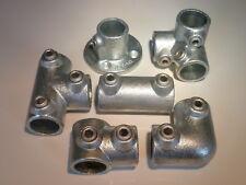Stahl Rundrohr + Rohrverbinder VERZINKT ab 21,3 mm auswählbar