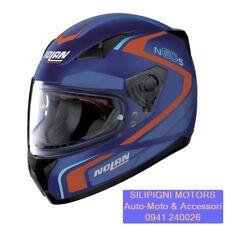 NOLAN N60-5 PRACTICE 22 FLAT CAYMAN BLUE - CASCO INTEGRALE MOTO