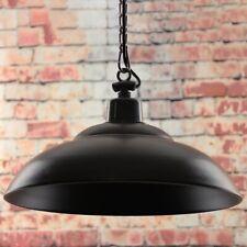 ROUGE CERF traditionnel RUSTIQUE FER plafonnier en pendule 8W Ampoule LED Home