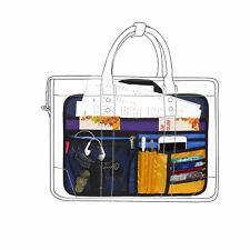 Unisex Bag Briefcase Insert Organizer Office File Document Storage Organizer (L)