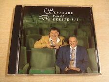 CD / RO BURMS EN KOEN CRUCKE - SERENADE VAN OP DE EERSTE RIJ