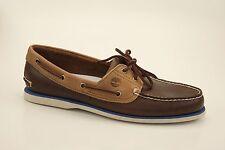 Timberland CLASSIC 2-Eye Boat Shoes Segelschuhe Deckschuhe Herren Schuhe NEU