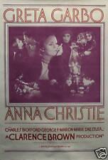 ANNA CHRISTIE -1930 / 1962 - C.BROWN - G.GARBO - MGM