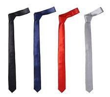 "KoooL Skinny Thin Neck Tie Narrow 1.5"" NeckTie Variety of Colors & Designs"