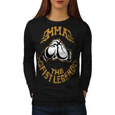 MMA Fighting Women Long Sleeve T-shirt NEW | Wellcoda