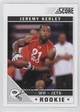 2011 Score #345 Jeremy Kerley New York Jets RC Rookie Football Card