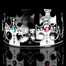 Acrylic Rhinestone Party King Crown Diademe (2 colors)