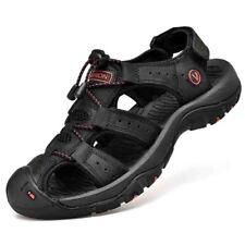 Sandals Men's Summer Soft Comfortable Shoes Genuine Leather Big Size Outdoor Men